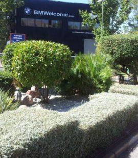 Mantenimiento jardines exteriores
