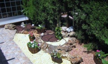 Obras y construcción de jardines